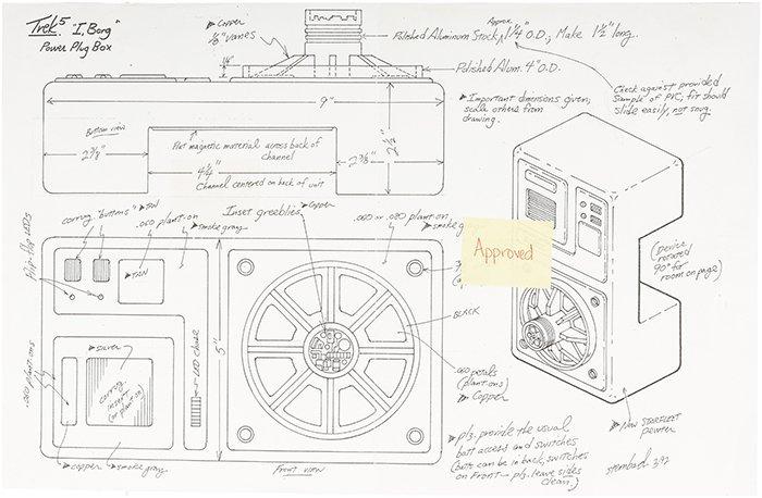 "Star Trek: The Next Generation ""Power Plug Box"" Concept"