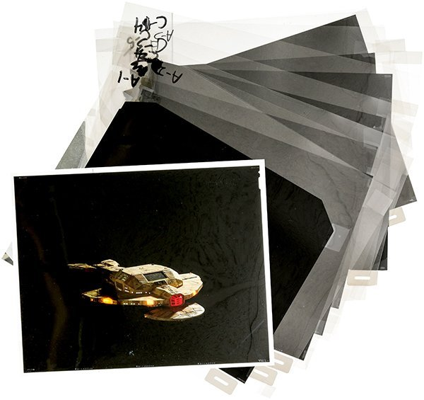 Star Trek: Deep Space Nine Cardassian Film Negative Set