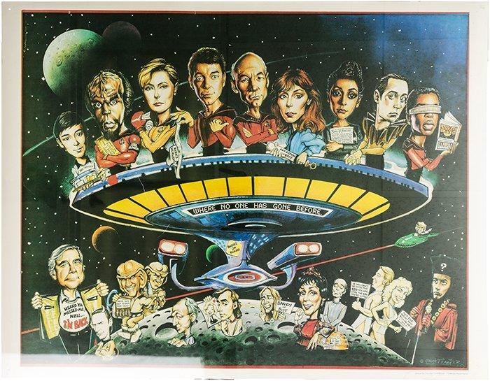 Star Trek: The Next Generation Chuck Trazier Poster