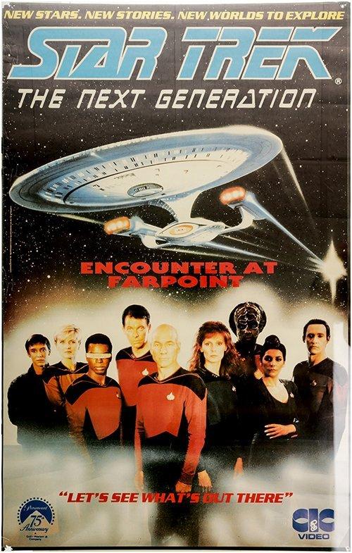 Star Trek: The Next Generation Vintage Premier Poster