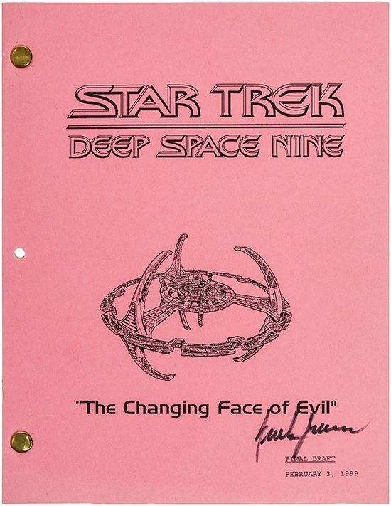 "Star Trek: DS9 ""The Changing Face of Evil"" Script"