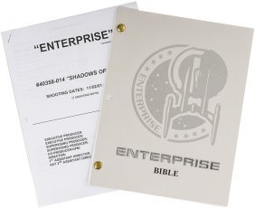"Star Trek: Enterprise Production ""Bible"" & Shooting..."
