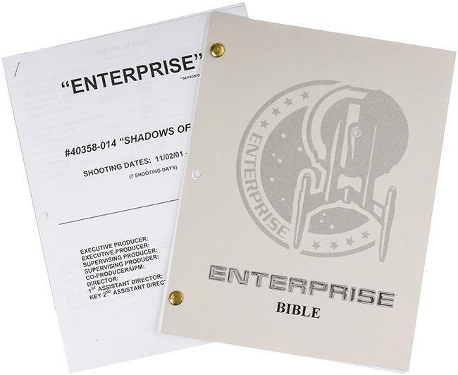 "Star Trek: Enterprise Production ""Bible"" & Shooting..."