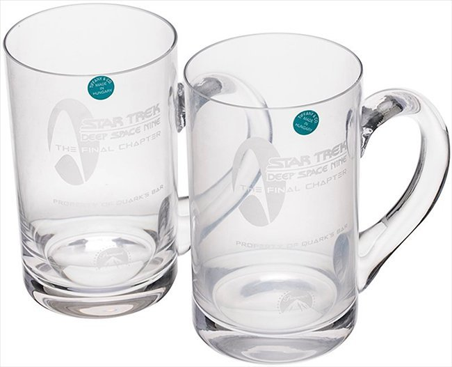 "Star Trek Tiffany ""Quarks Bar"" Crew Gift Glasses"