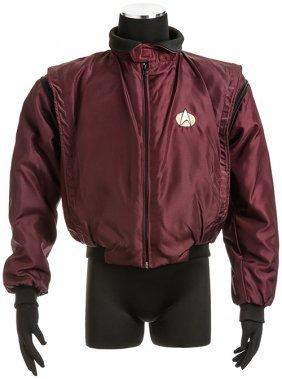 Star Trek: The Next Generation Burgundy Crew Jacket