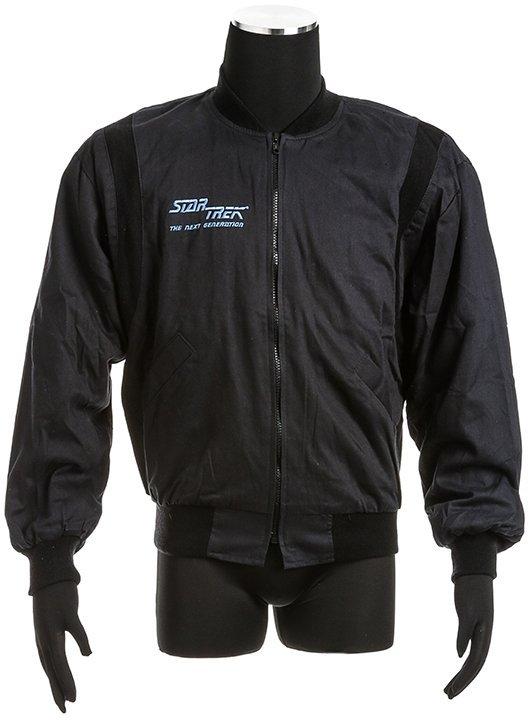 Star Trek: The Next Generation Black Crew Jacket