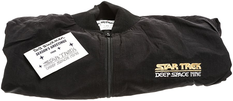 "Star Trek: Deep Space Nine ""Blackman"" Crew Jacket"