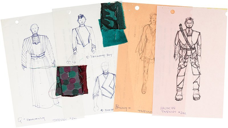 "Star Trek: The Next Generation ""Tapestry"" Concept Art"