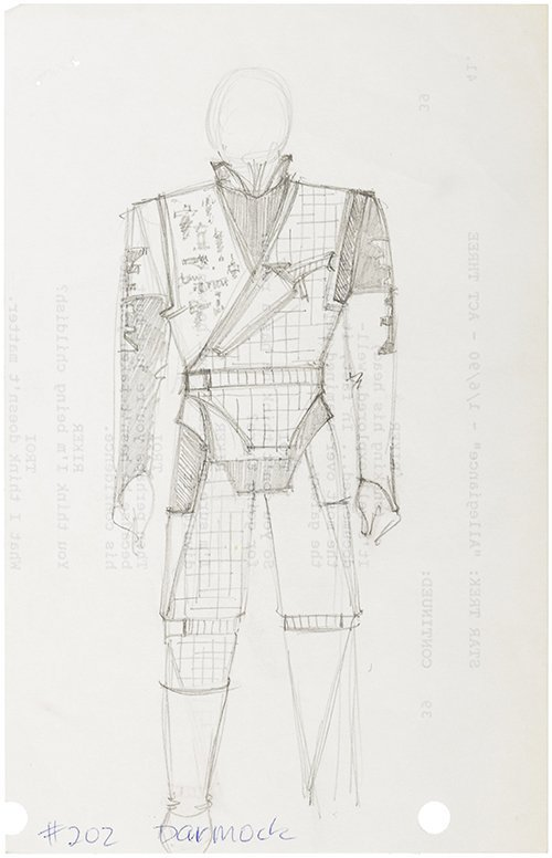 "Star Trek: The Next Generation ""Darmok"" Concept Art"