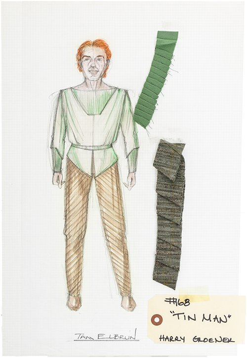 "Star Trek: The Next Generation ""Tin Man"" Original Art"