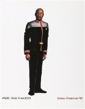 Star Trek: Deep Space Nine Original Captain Sisko Art