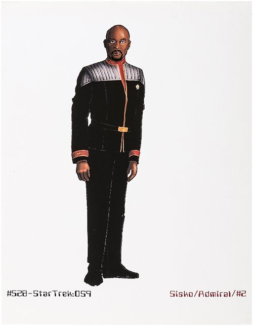 Star Trek: Deep Space Nine Original Captain Sisko Art