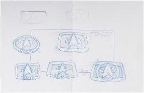 Star Trek: Deep Space Nine Original Starfleet Belt Art
