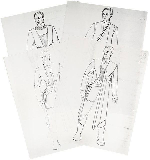"Star Trek: Generations Original ""Soran"" Concept Artwork"