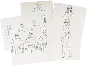 Star Trek: Generations Original Alternate Starfleet Art