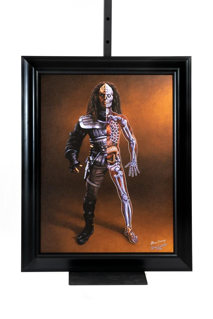Star Trek: TNG Klingon Anatomy Art