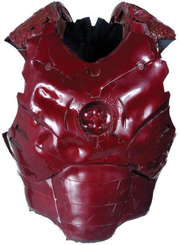1: Battle Damaged Iron Man Mark III Unfinished Torso C