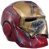 2: Iron Man Crushed Mark III Helmet