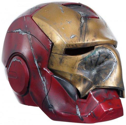 2 Iron Man Crushed Mark Iii Helmet Apr 18 2010