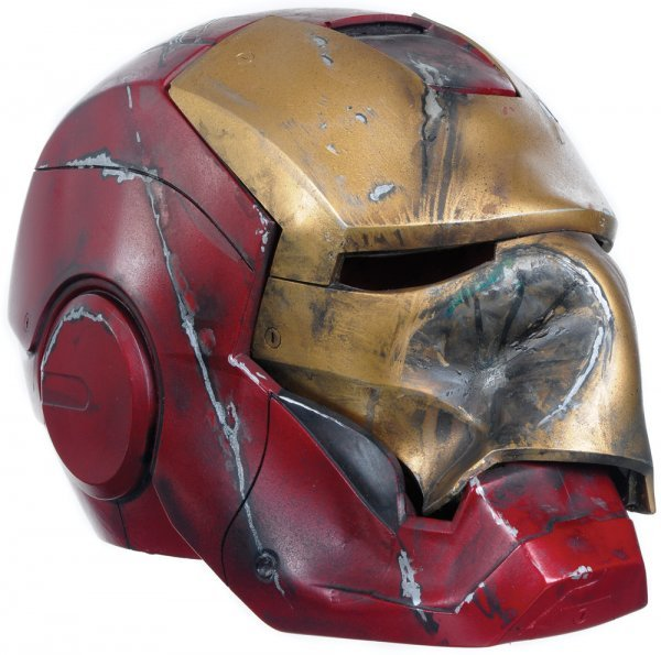 2: Iron Man Crushed Mark III Helmet