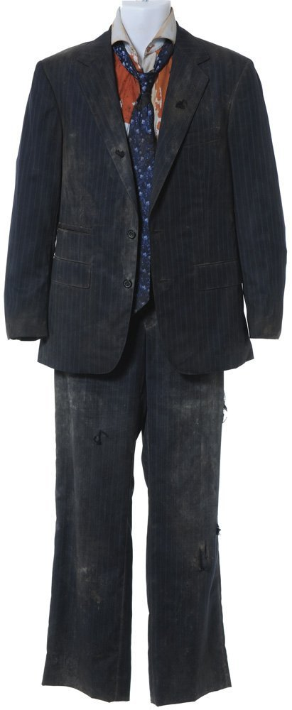 173: Tony Stark's Dirty and Distressed Pinstripe Suit