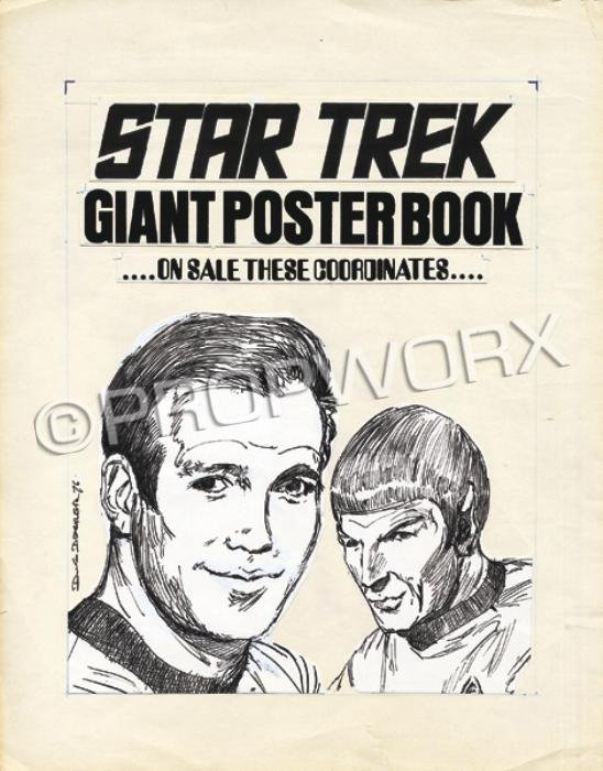 9: Star Trek Poster Book Original Art