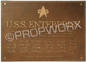 10: Enterprise-E Dedication Plaque