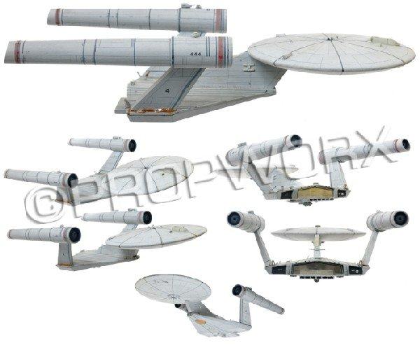 12: Starship Enterprise Study Model