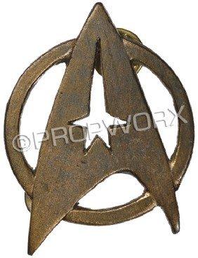 18: Starfleet Insignia Pin - TWOK through GEN