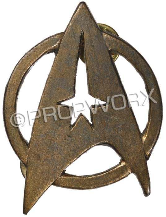 18: Starfleet Insignia Pin - TWOK through GEN