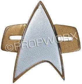 Starfleet Communicator Badge