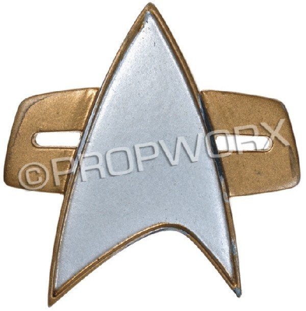 20: Starfleet Communicator Badge