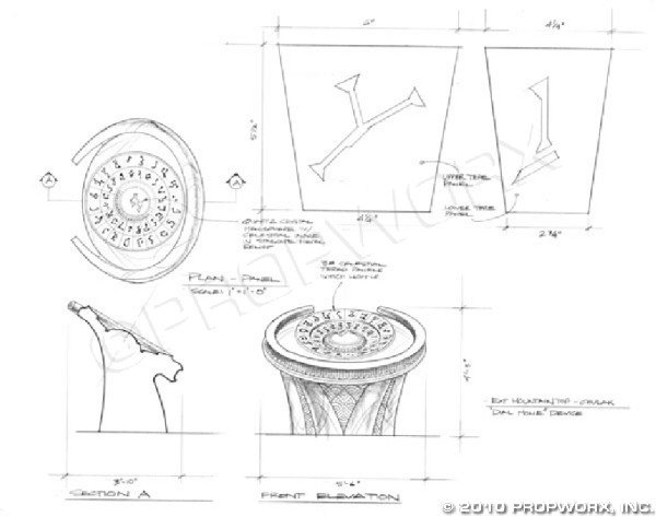 """6: DHD Concept Art from """"Children of the Gods"""""""