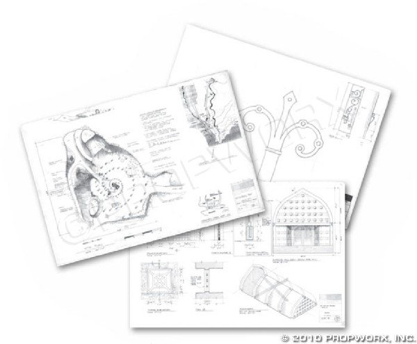 15: Abydos and Chulak Schematics and Concept Art