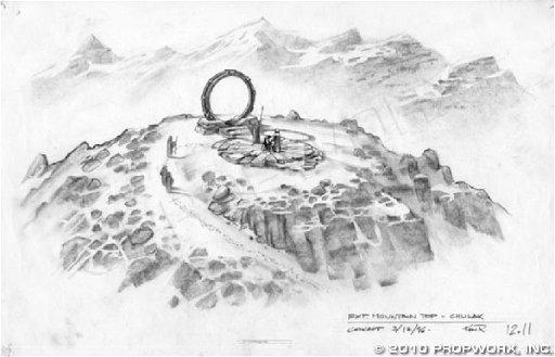 17 Chulak Mountain Top Concept Art