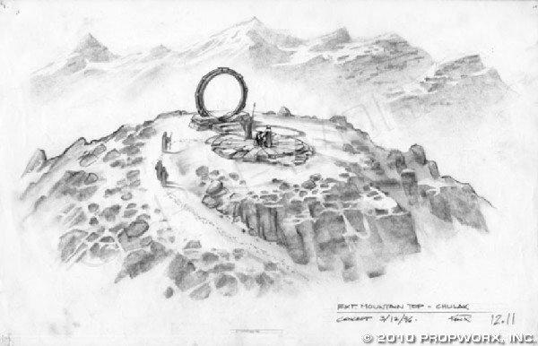 17: Chulak Mountain Top Concept Art