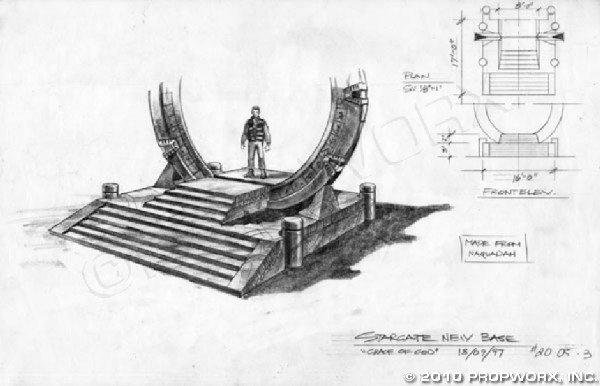 19: Alien Stargate Concept Art
