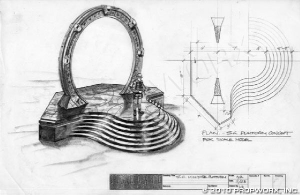 21: Stargate Platform Concept Drawing