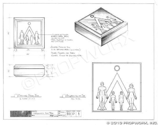 24: Sagan Institute Box Concept Drawing