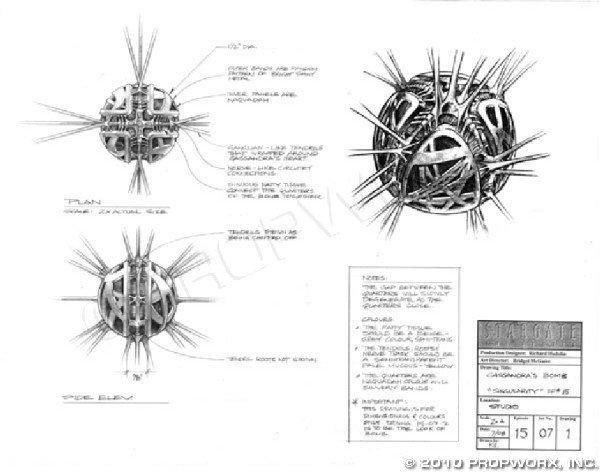 28: Cassandra's Bomb Concept Art