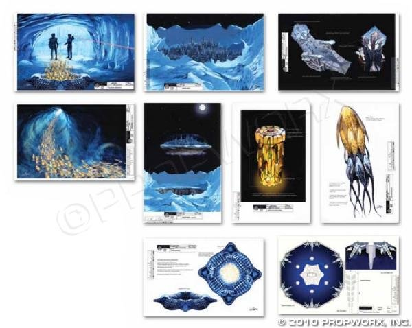 "47: ""Lost City"" Concept Art Collection"