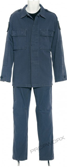 "22: Mitchell's blue uniform from ""The Shroud"""