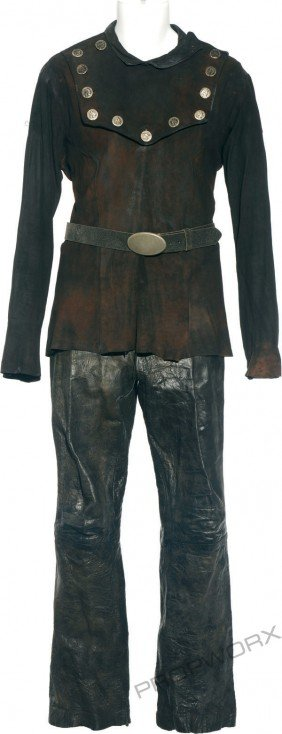 "24: Mitchell's scoundrel costume from ""The Ties That Bi"