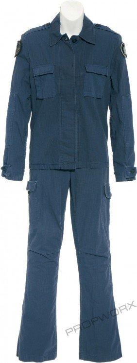 Vala's Blue Uniform