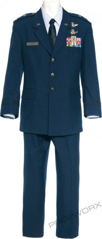 58: Landry's dress blues and jacket