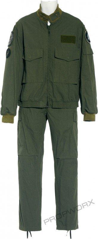 61: Landry's green uniform