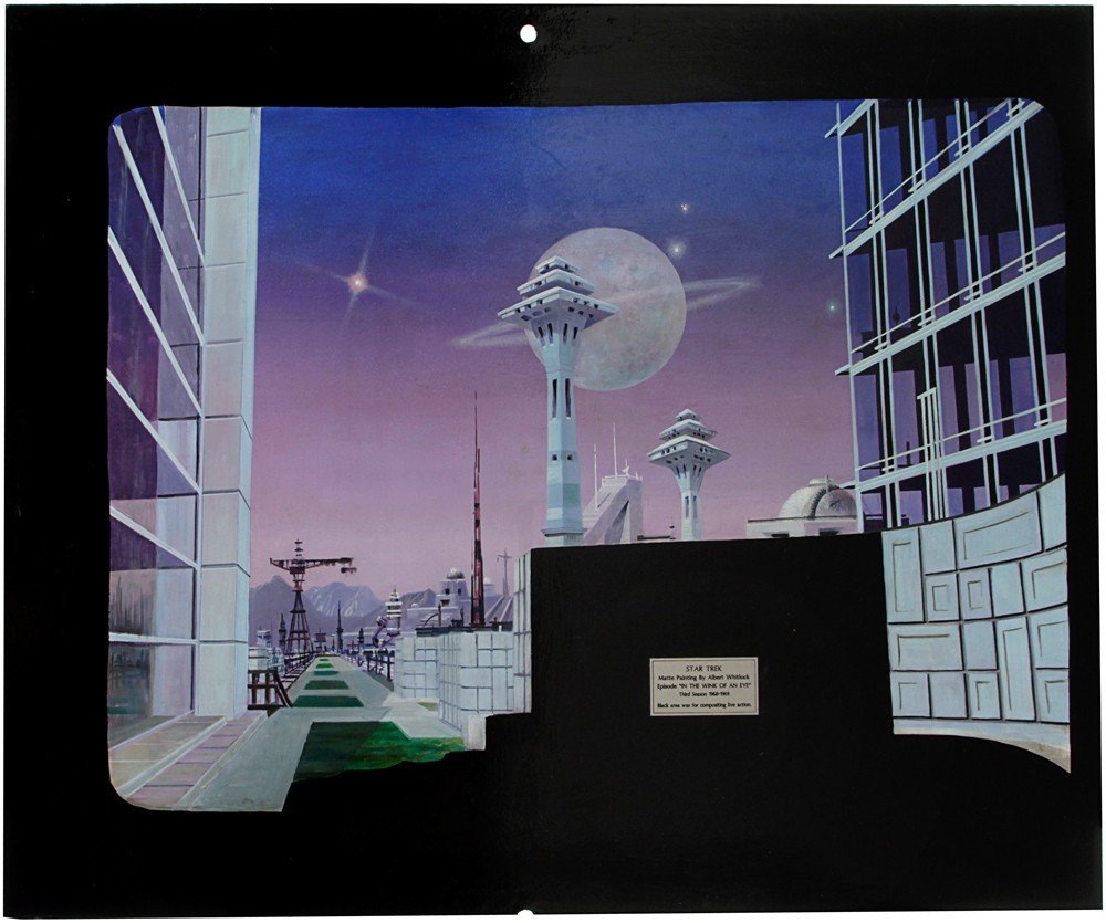 1: Star Trek TOS Matte Painting