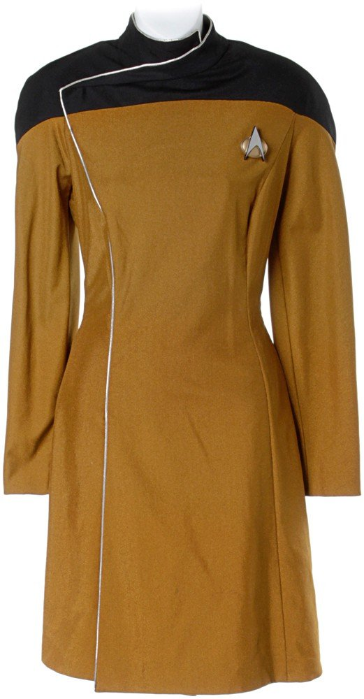 9: Star Trek: The Next Generation Tasha Yar Dress Unifo