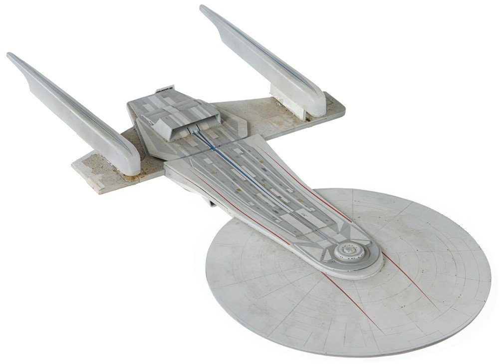 45: Star Trek Starship Excelsior Study Model