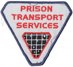 Battlestar Galactica Prison Transport Patch